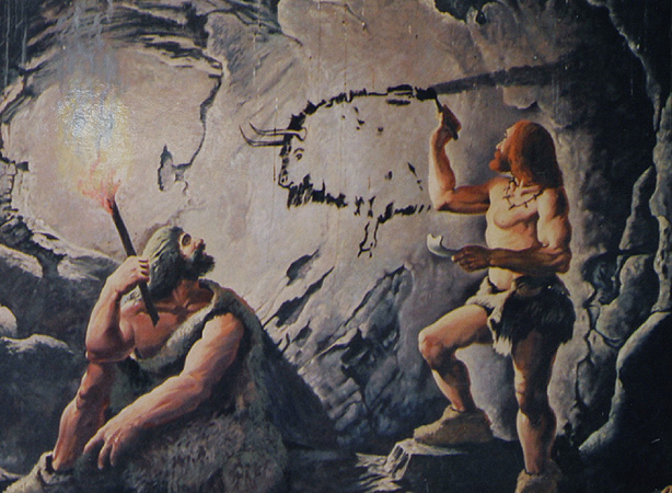 Man Cave Paintings : Cro magnon